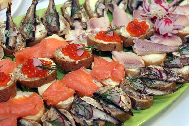 В меню гастрономического фестиваля будут преобладать рыбные блюда