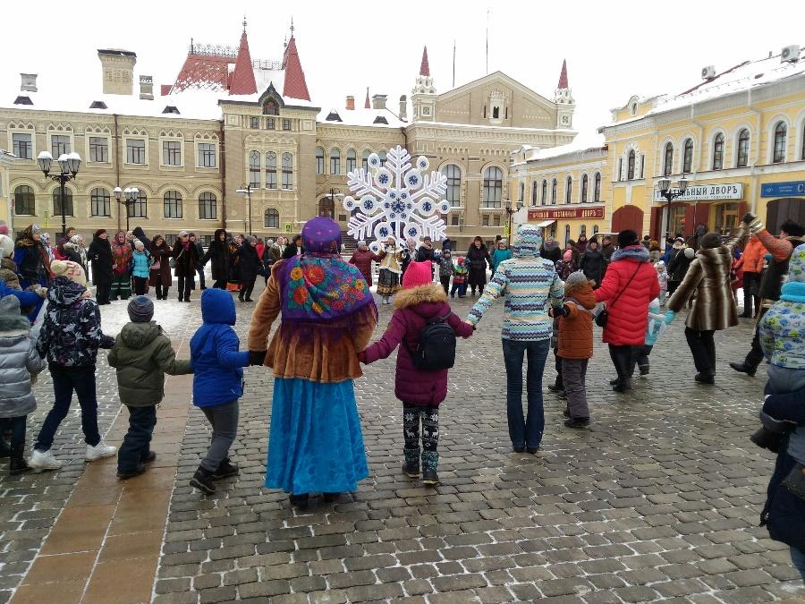 В Рыбинске отмечают Рождество
