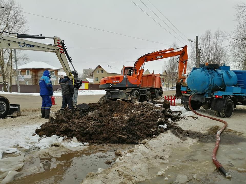 Коммунальные службы Рыбинска отработали в праздники в штатном режиме