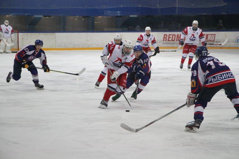 В Рыбинске прошел хоккейный матч памяти воинов-интернационалистов