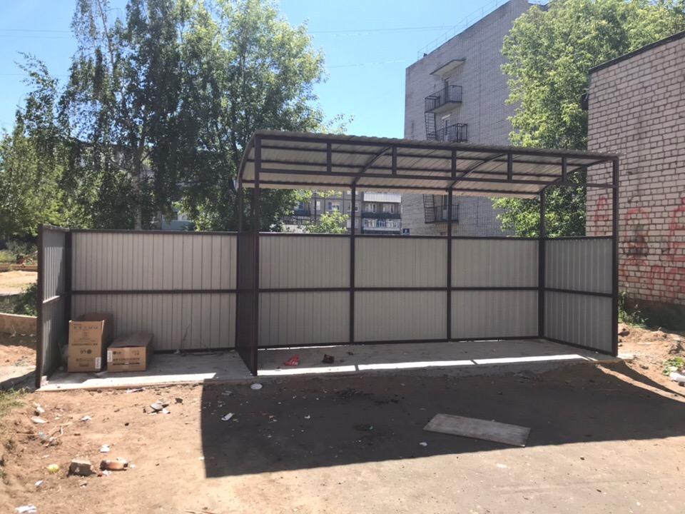 В Рыбинске контейнерные площадки оборудуют согласно правилам