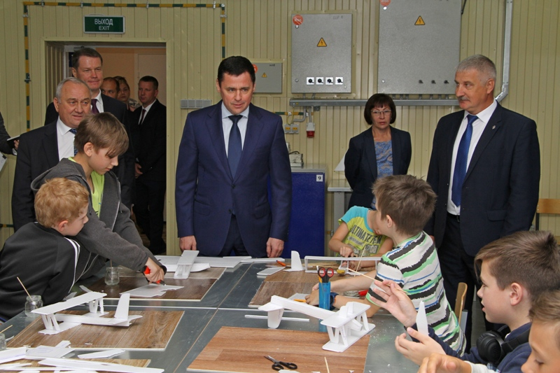 Рыбинск посетил губернатор Дмитрий Миронов