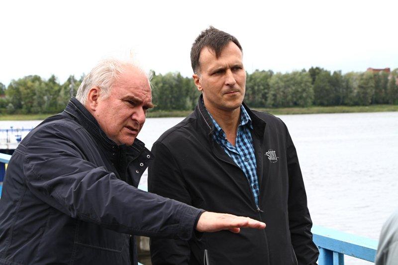 К вопросу строительства берегоукрепления на Стрелке подключился ОНФ