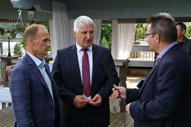 Глава Рыбинска встретился с президентом Союза биатлонистов России