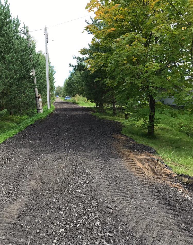 В Рыбинске продолжают укреплять дороги частного сектора