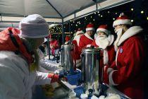 Большое чаепитие Дедов Морозов