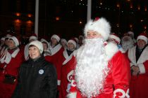 Главный Дед Мороз Рыбинска - и.о.Главы города Леонид Можейко