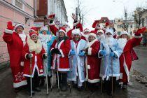 Участник НаШествия- группа пенсионеров, занимающихся скандинавской ходьбой