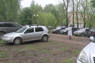 В Рыбинске прошла акция «Скажи нет парковке на газонах!»