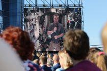 Поздравление от Алексея Овчинина с МКС